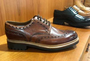 A classic Archie brogue on a commando sole.