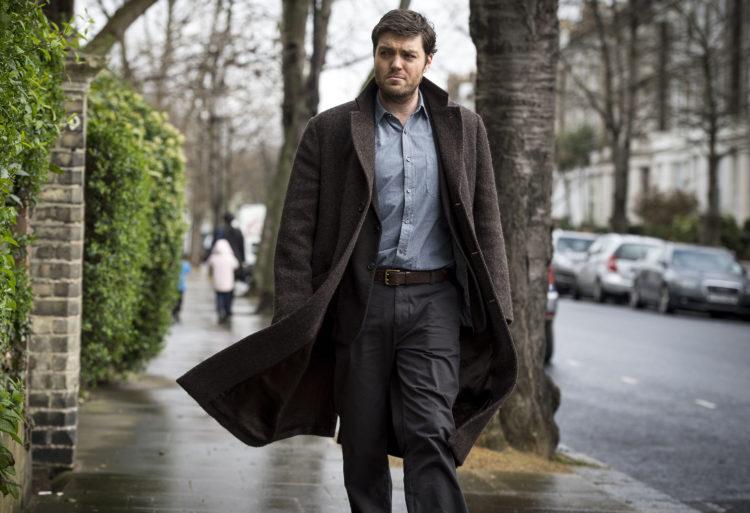 That tweed coat breezily walking the streets with Tom Burke as Cormoran Strike.