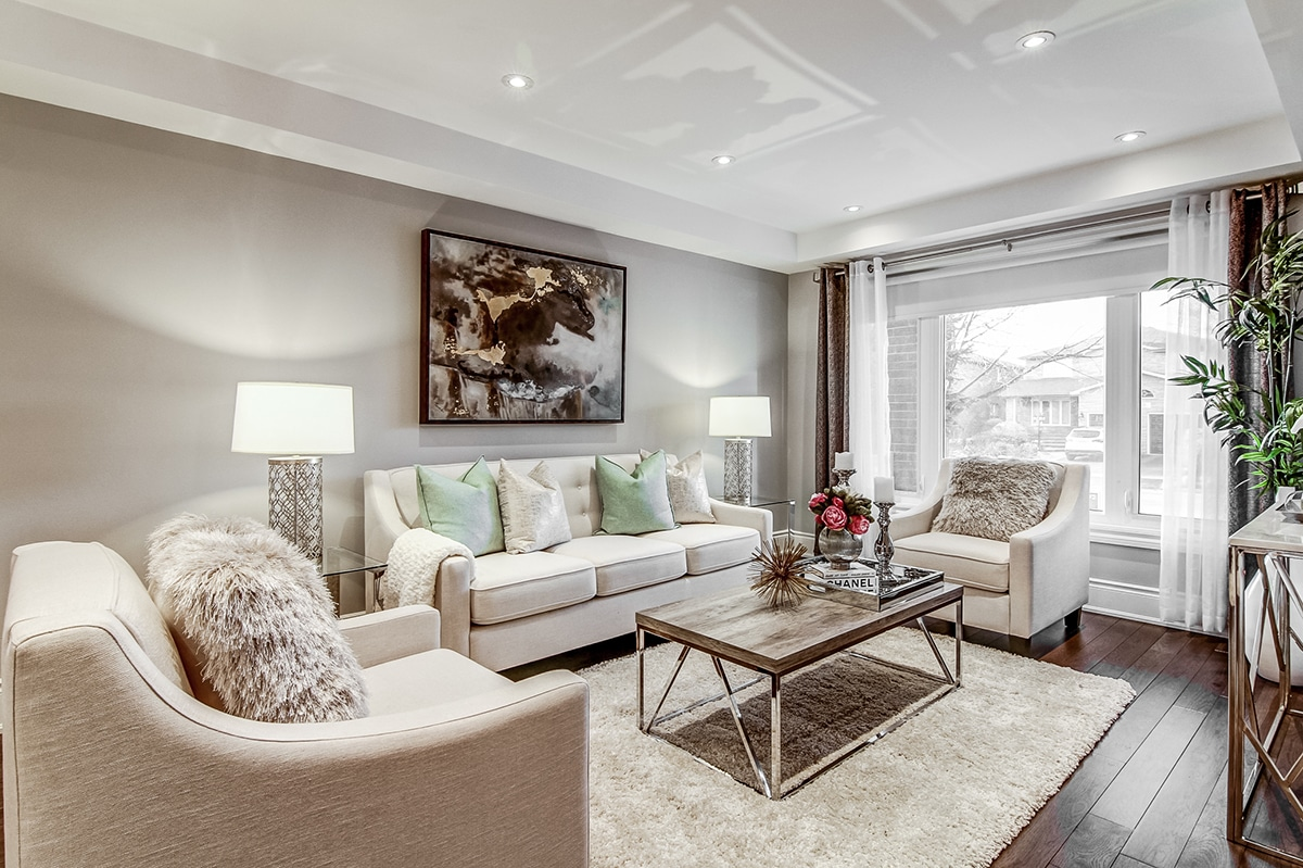 Occupied Home Staging Vaughn  Well Dressed Home