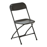 Samsonite Folding Chair Black for Hire from Well Dressed ...