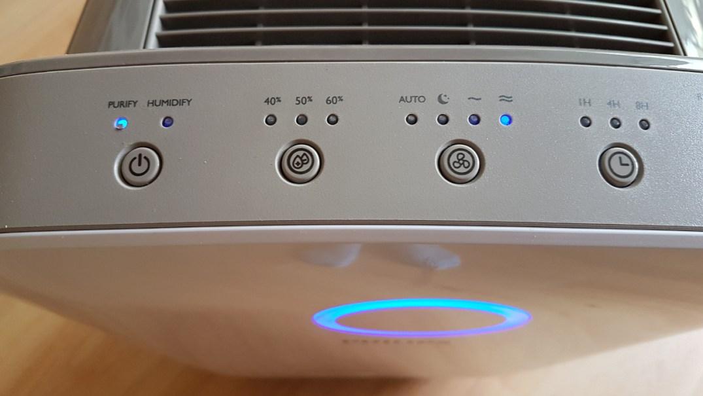 Testbericht Luftreiniger, Luftbefeuchter, Luftwäscher - Luftreiniger Konsole