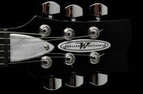 Stageliner Black Headstock