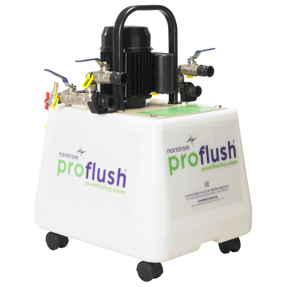 Central Heating Power Flusher  Wellers Hire