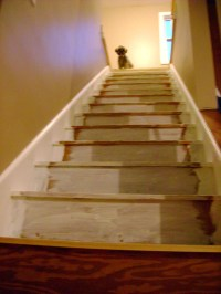 Stairway with white trim | Wellesley House
