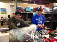 Working at Cradles to Crayons