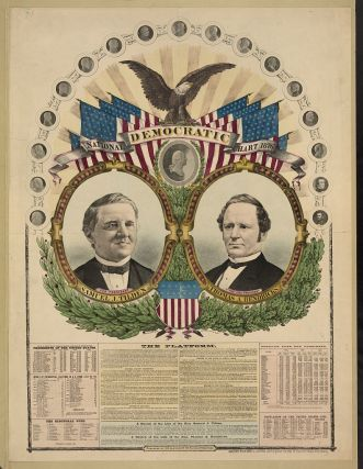 Tilden Campaign Poster (Source: Harper's Weekly)