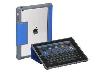 Two iPads in protective cases