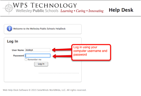 HelpDesk Step 2 Screenshot