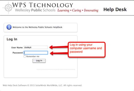 HelpDesk Step 2 Screenshot