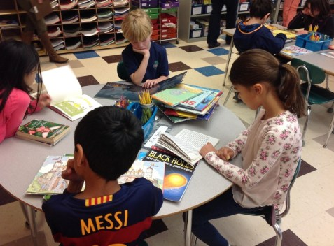 Independent reading in Grade 2