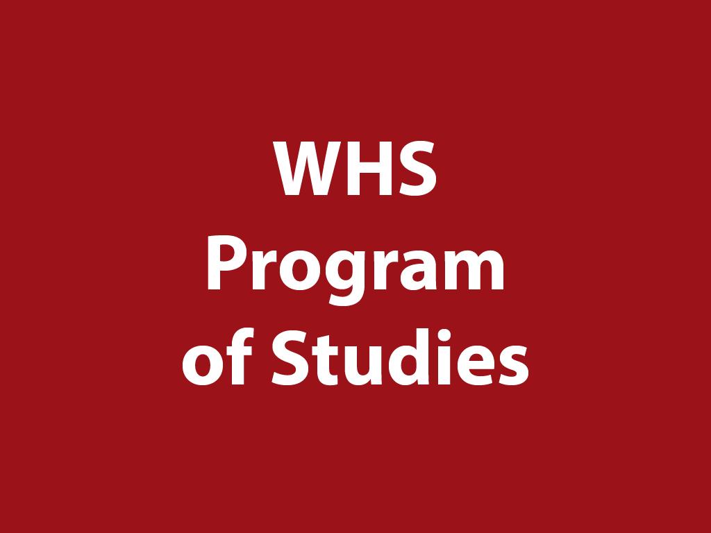 WHS Program of Studies