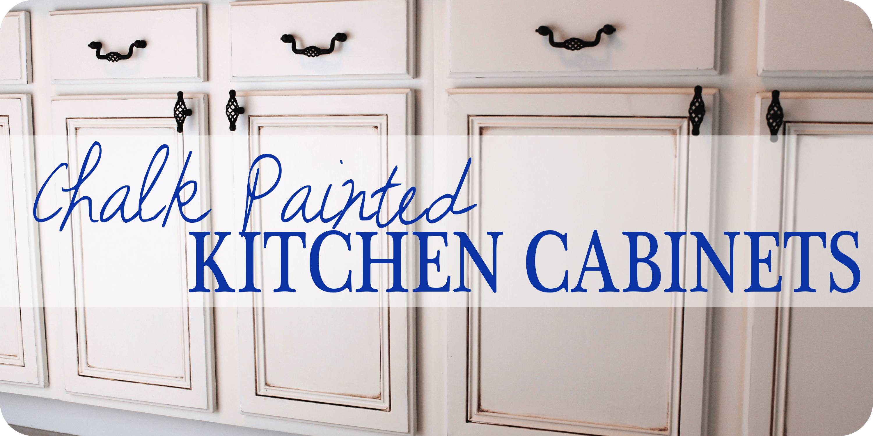 Painted Kitchen Cabinets Chalk Paint! Well Groomed Home