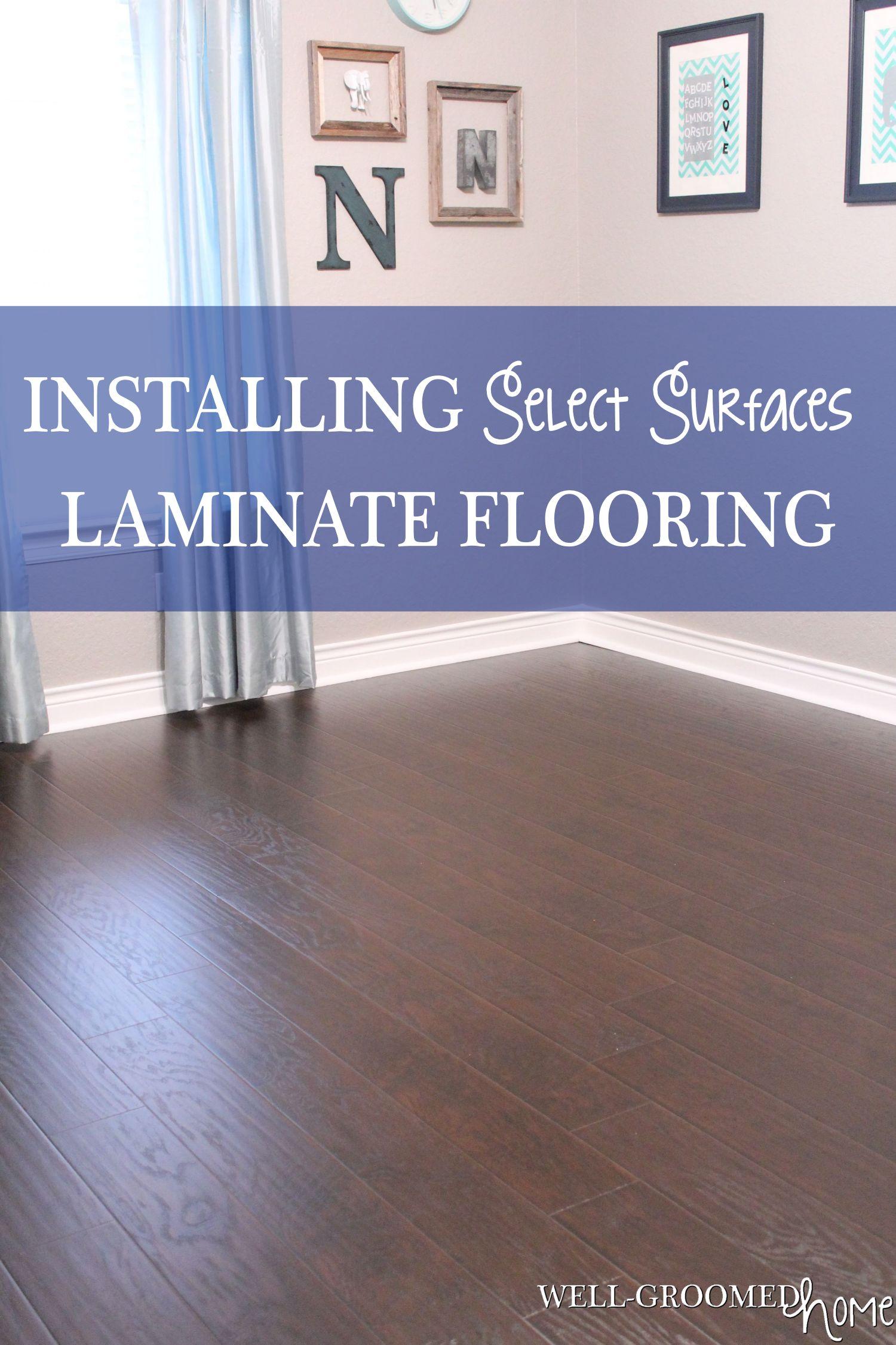 Select Surfaces Laminate Hardwood Flooring  WellGroomed Home