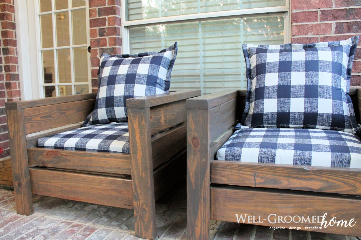 Diy Patio Chairs Well Groomed Home