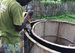 Waterput bouwen