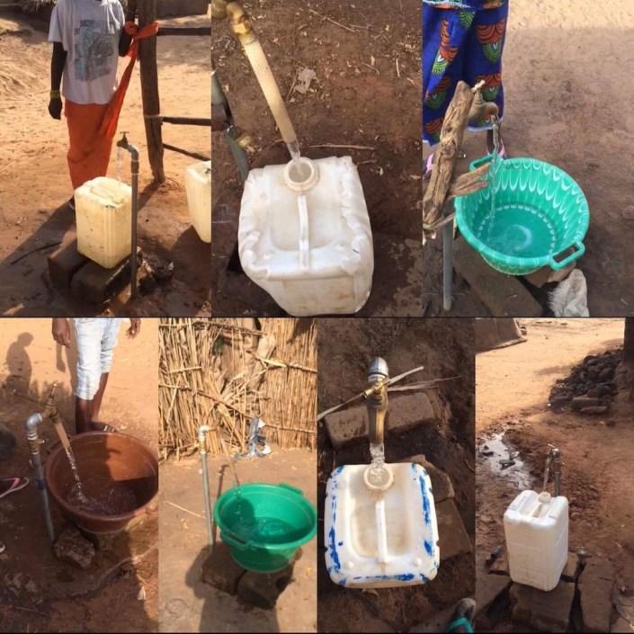 Eerste watervoorziening in Kerr Sulay