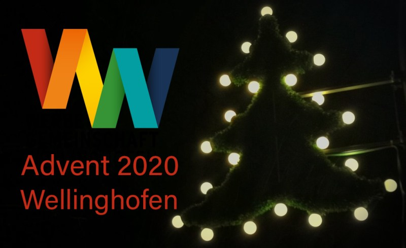 Adventsbeleuchtung in Wellinghofen 2020