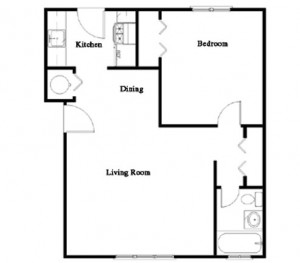 1 Bedroom Garden Apartment in Manchester NH at Wellington