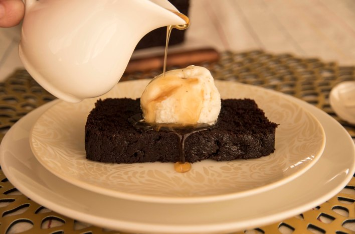 Dark Chocolate + Earl Grey Loaf Cake