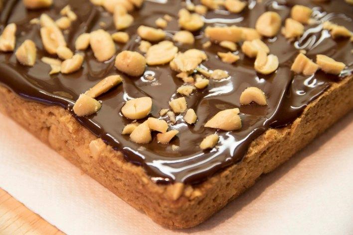 Sweet + Salty Peanut Squares