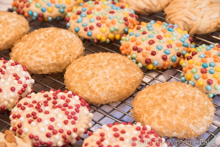 Simple Almond Cookies-7