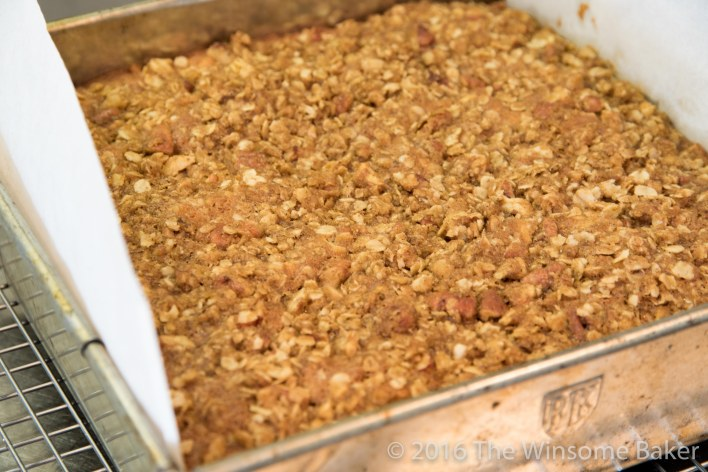 Apple Streusel Snack Cake -7