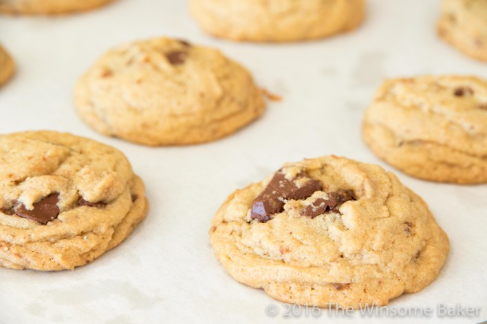 Whiskey + Salted Caramel Chocolate Chip Cookies -14