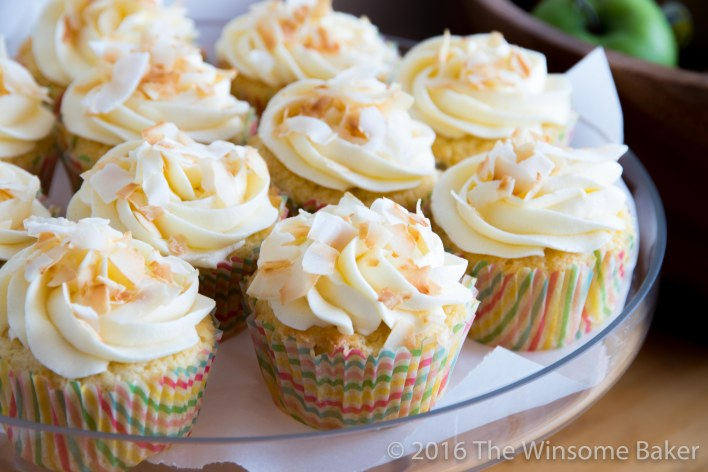 Coconut Cupcakes -13