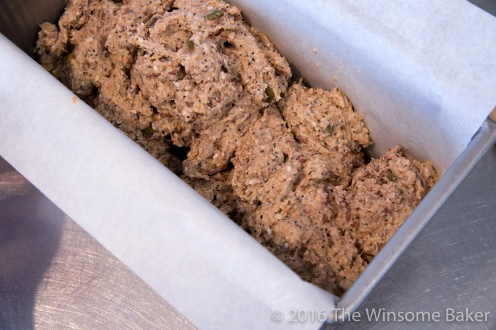 No-Knead Seeded Wholemeal Bread -5