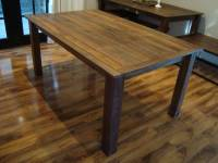 rustic dining table : Home Interior And Furniture Ideas