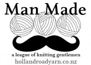 Are men 'man enough' to knit?
