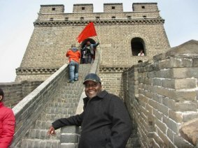 Walking the Great Wall of China