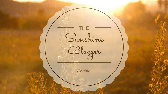 Our Sunshine Blogger Awards