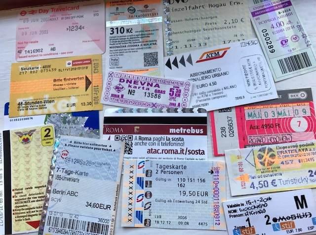 Eurotreker travel souvenir collection
