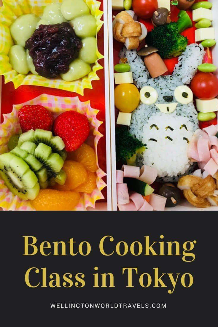 Bento Cooking Class in Tokyo - Wellington World Travels | Things to do in Tokyo | Travel guide | Travel destination | travel bucket list ideas