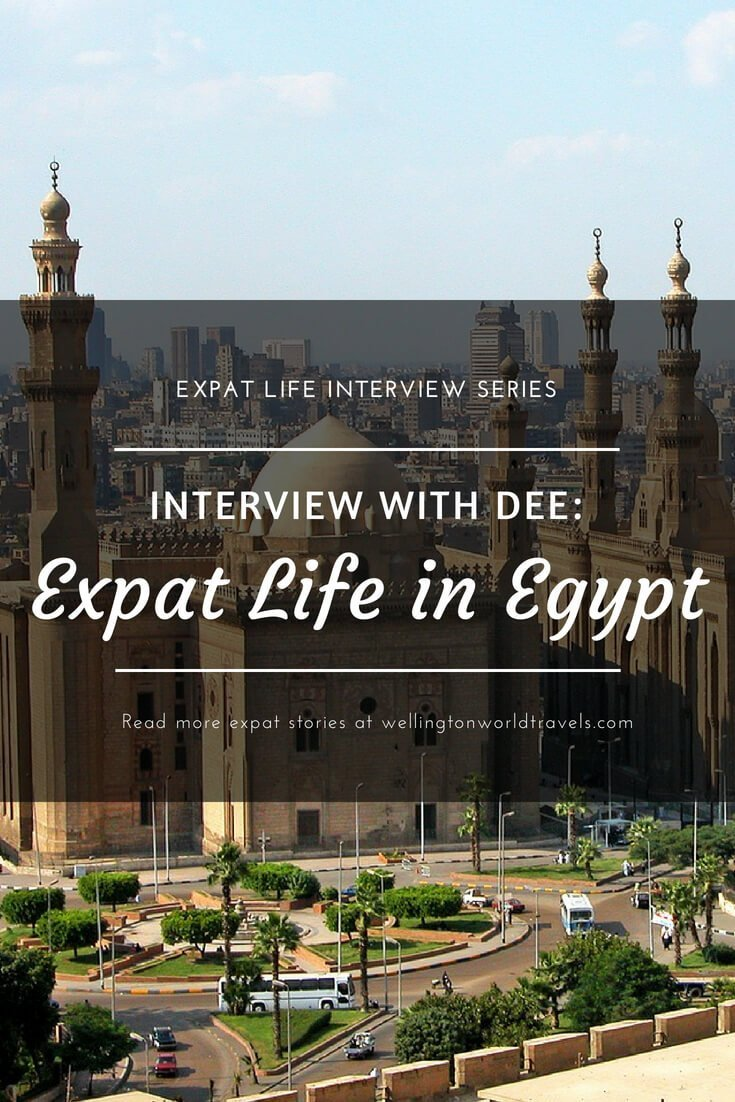 Interview with Dee: Expat Life in Egypt