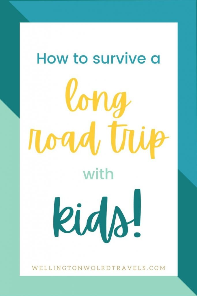 plan long road trips with kids