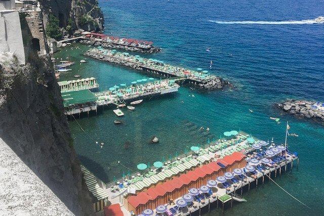 Sorrento Beach, Amalfi Coast