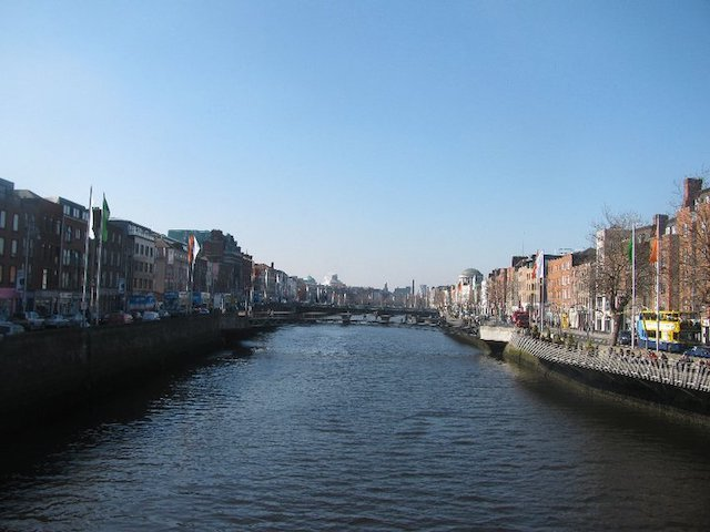 River Liffey, Ireland by The Directionally Challenged Traveler