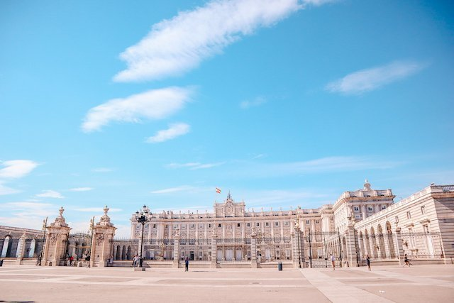 Royal Palace, Madrid, Spain by My Path in the World