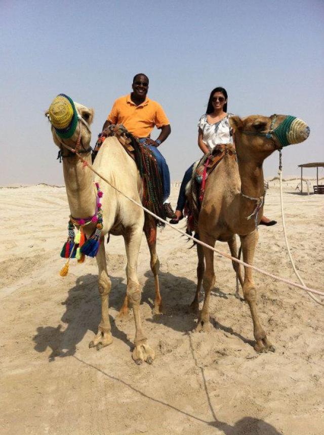 camel ride, doha, Qatar