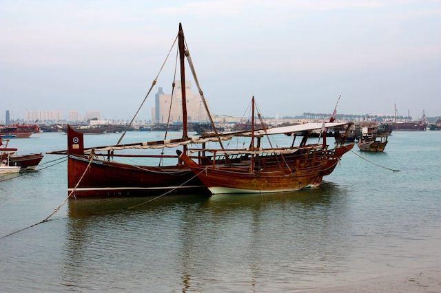 Dhow cruise, doha, Qatar