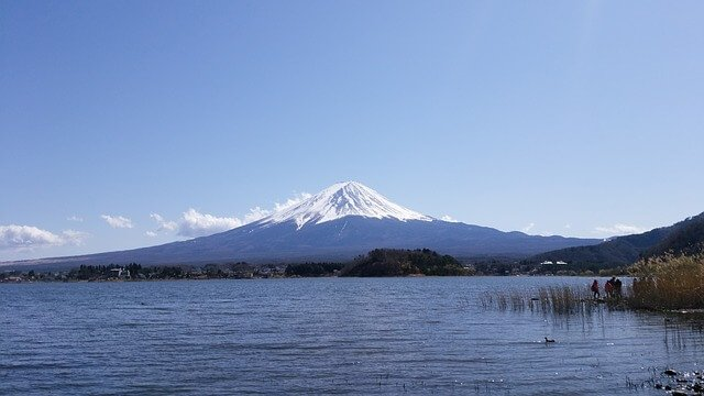 Mt Fuji from Lake Kawaguchi