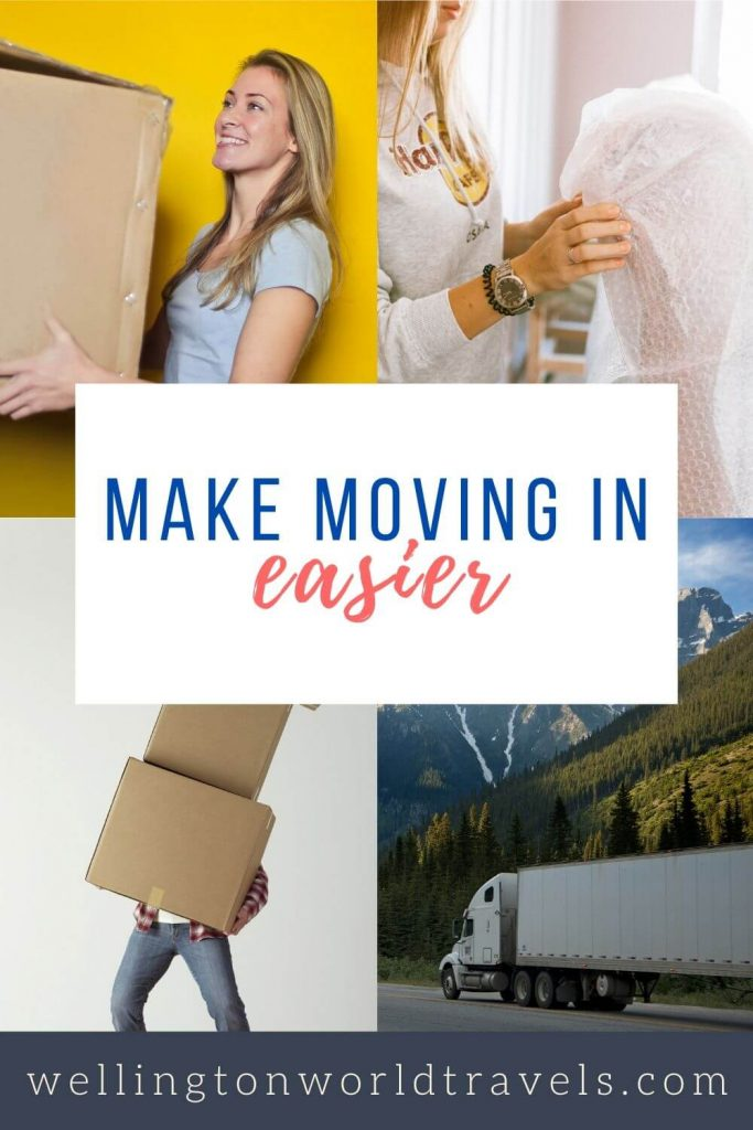 How to Make Moving and Settling in Easy - Wellington World Travels