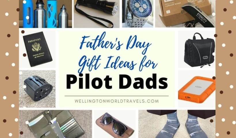 Father's Day Gift Ideas For Pilot Dads - Wellington World travels
