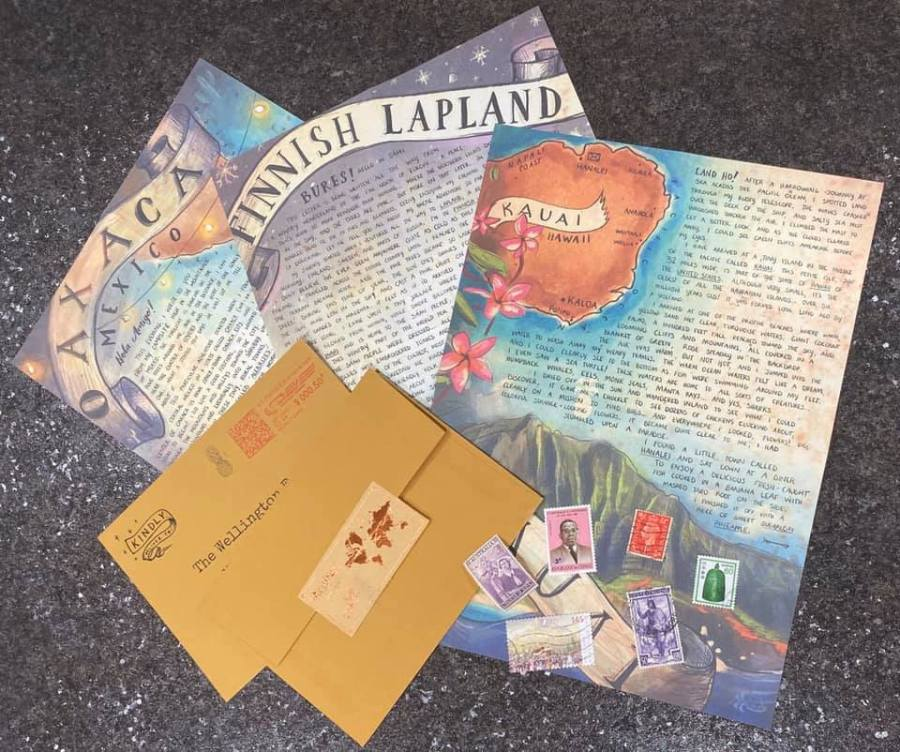 Letters From Afar mails
