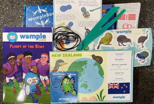 Womple Studios subscription box - New Zealand