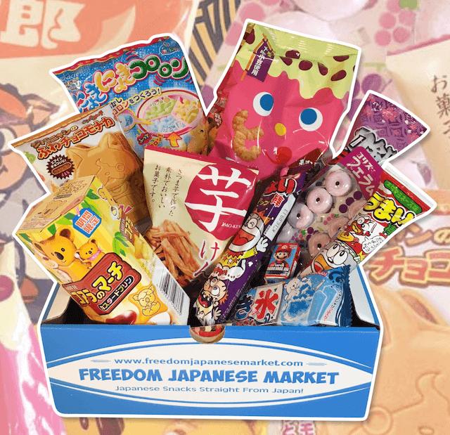 Freedom Japanese Market subscription box