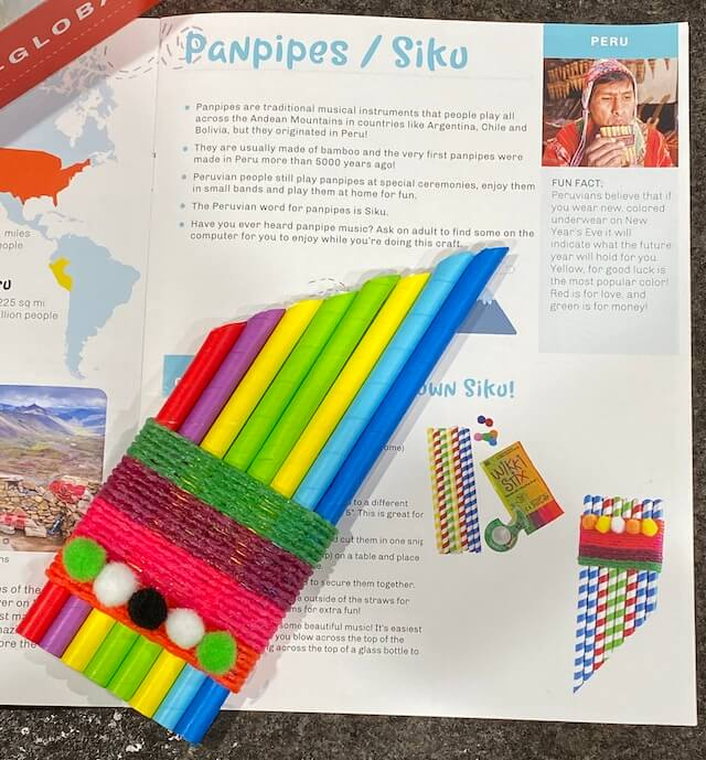 Panpipes/Siku - Peru with Little Global Citizens