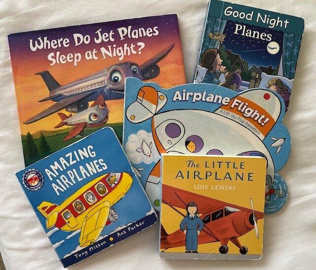 kids airplane books